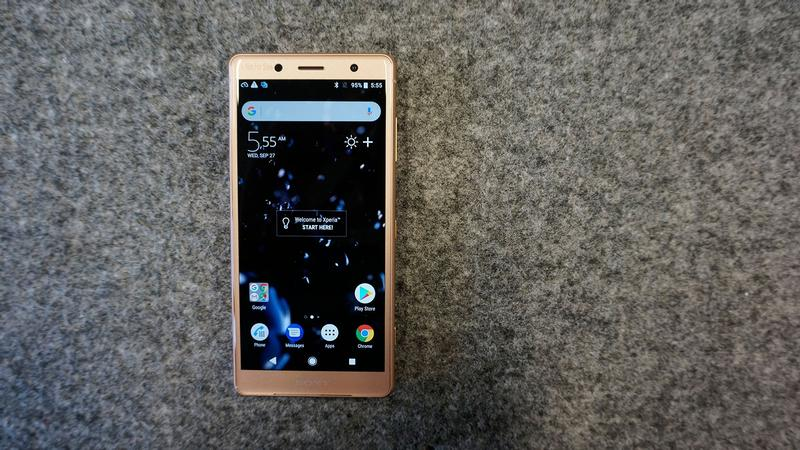 Sony Xperia XZ2 Compact review: Hands-on - Gigarefurb