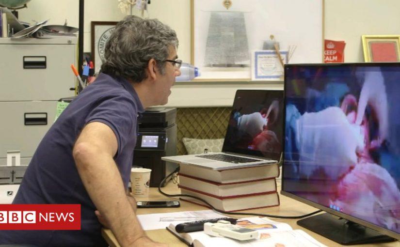 Surgeon David Nott: Hack led to Syria air strike