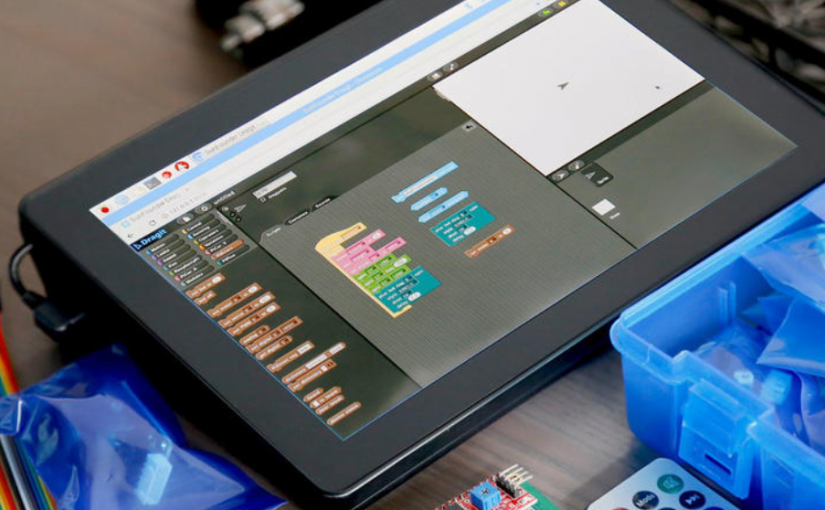 RasPad is a Raspberry Pi tablet for makers that looks like a fat iPad