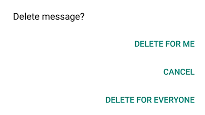 How to Delete WhatsApp Messages After the Time Limit