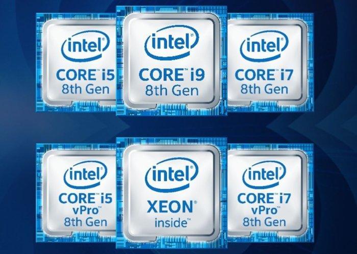 intel core i9 logos