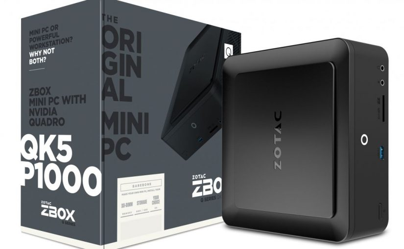 ZOTAC announces first workstation mini PC with Nvidia Quadro graphics