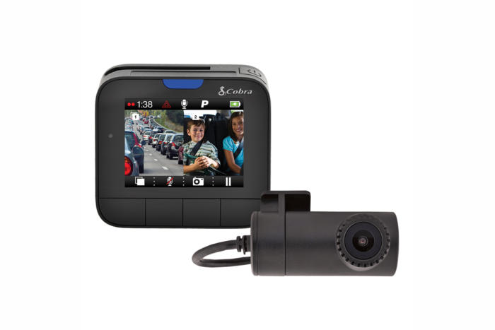 Cobra Drive HD Dash 2316D review: Dual cameras, neat features, poor night video