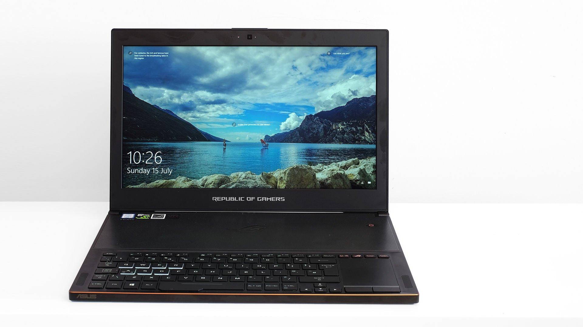 Asus ROG Zephyrus GX501 screen