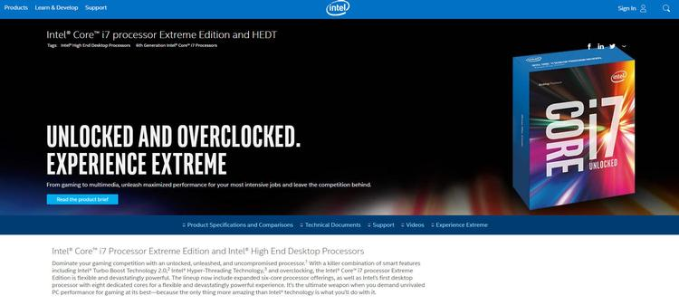 Intel overclocking