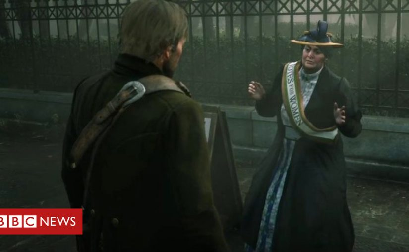 Red Dead 2 suffragette clips deleted by YouTube