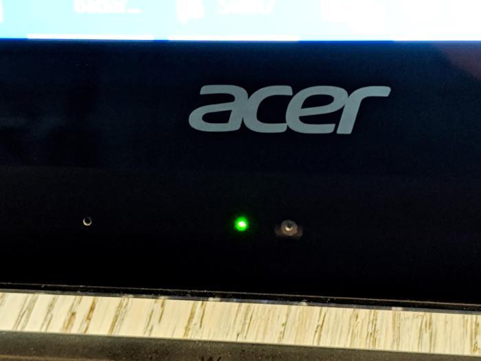 Acer Swift 7 webcam