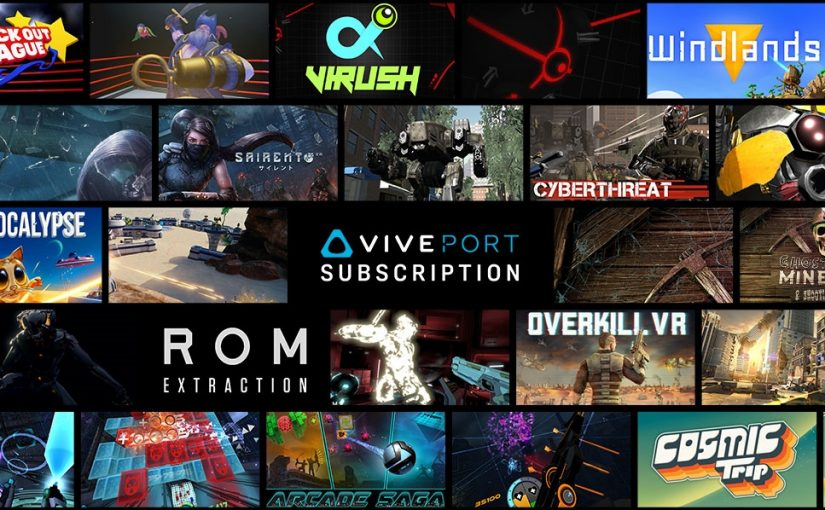 Viveport – the Netflix for VR – comes to Windows Mixed Reality headsets