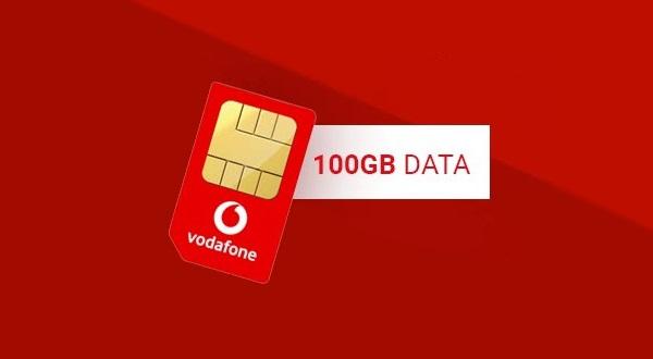 Vodafone's mega 100GB data SIM only deal returns – now with added bonuses