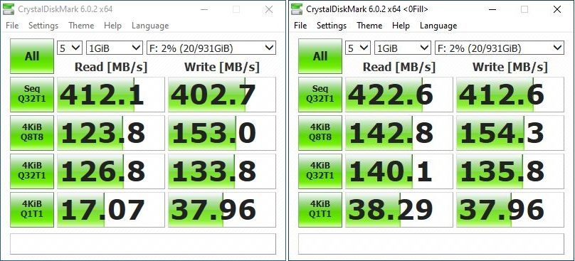 Seagate One Touch SSD performance