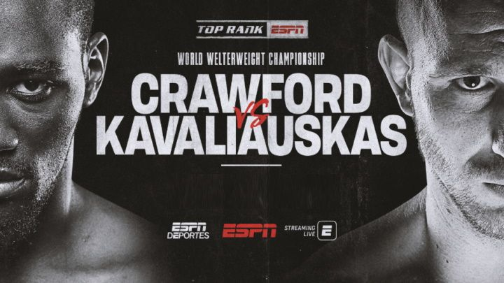 Crawford vs Kavaliauskas live stream: how to watch the fight online from anywhere