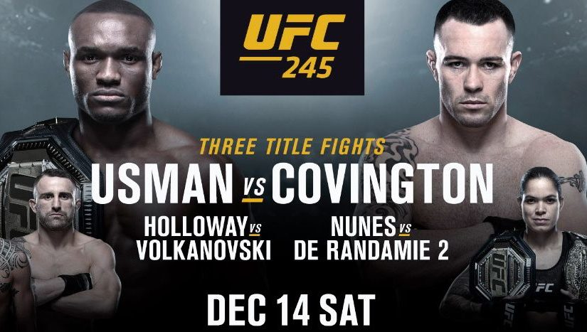 UFC 245 live stream: how to watch Usman vs Covington (and the rest) from anywhere tonight