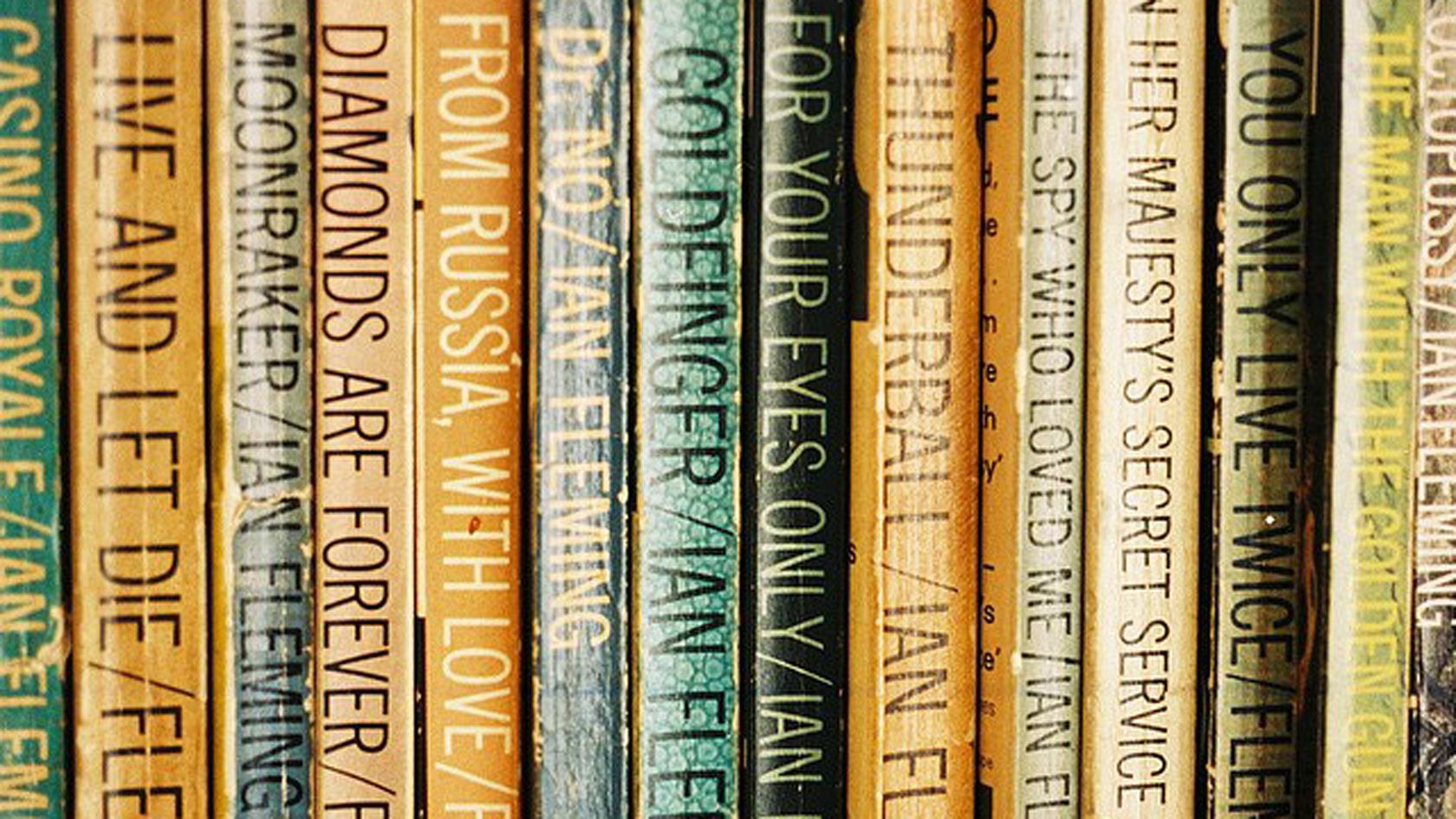 James Bond Order Of Books