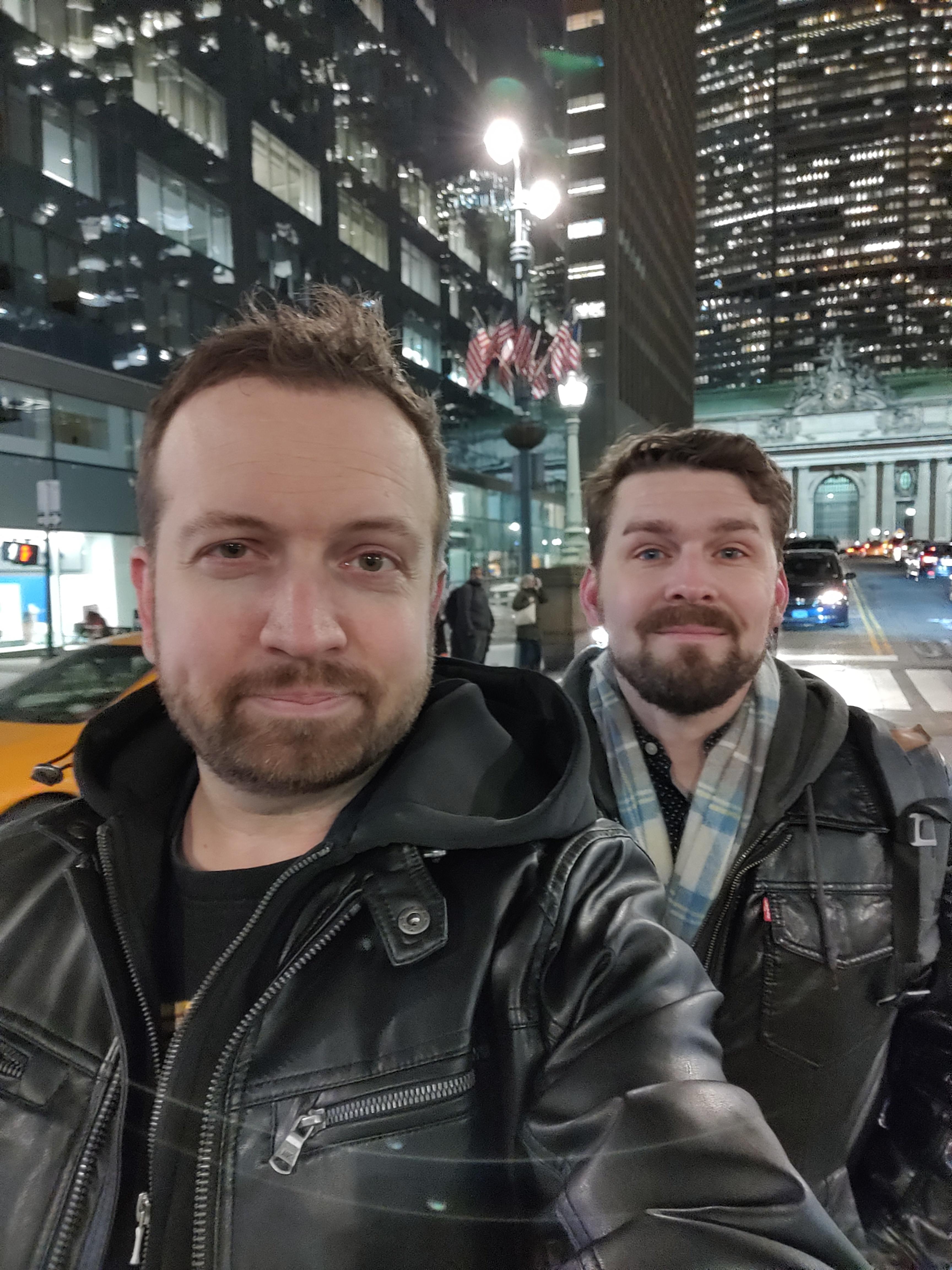Selfie camera sample