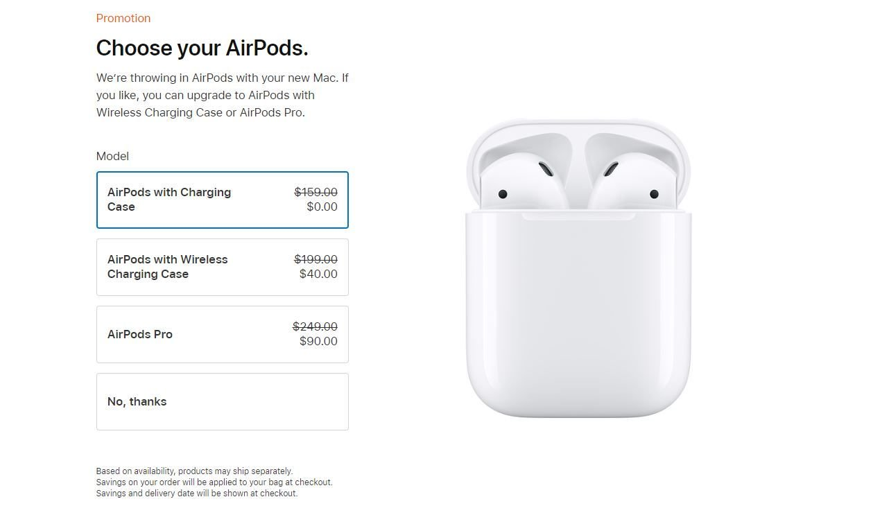 Apple Education Store Deal