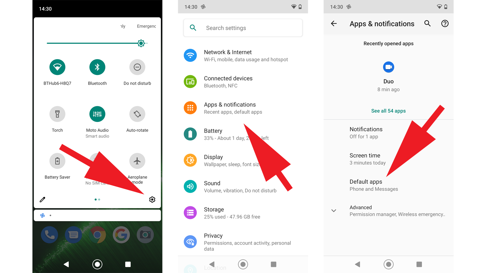 How to set default apps on Android: Finding the defaults