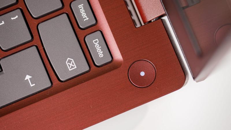 Lenovo IdeaPad 3i power button