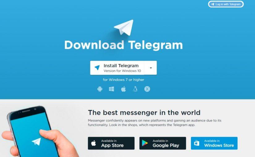 Telegram encrypted messaging